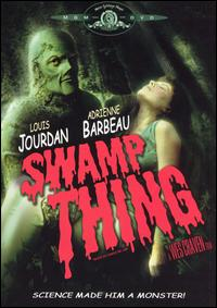 cover: Swamp Thing (Wes Craven)
