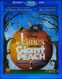 cover: James and the Giant Peach (Blu-ray-1996)