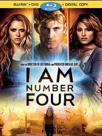 cover: I Am Number Four (2011-Blu-ray)