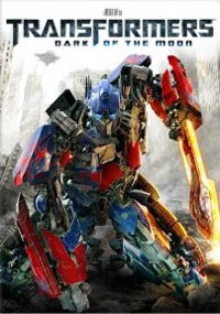 cover: Transformers 3: Dark of the Moon (Blu-ray)