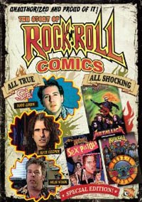 cover: Story of Rock 'N' Roll Comics (aka Unauthorized)