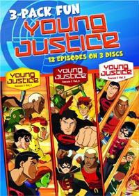 cover: Young Justice: Season 1 Part 1 (3d)